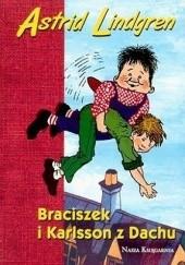 Okładka książki Braciszek i Karlsson z dachu Astrid Lindgren