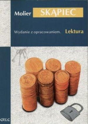 Okładka książki Skąpiec Molier