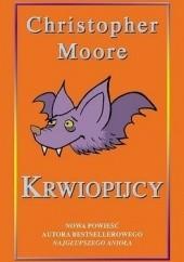Okładka książki Krwiopijcy Christopher Moore