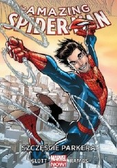 Okładka książki Amazing Spider-Man: Szczęście Parkera Dan Slott,Humberto Ramos