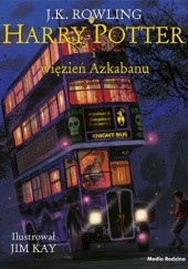 Okładka książki Harry Potter i więzień Azkabanu (Wydanie ilustrowane)