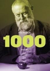 Okładka książki 1000 słów Jerzy Bralczyk