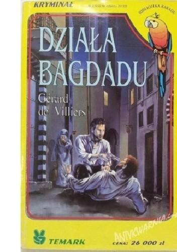 Okładka książki Działa Bagdadu Gérard de Villiers