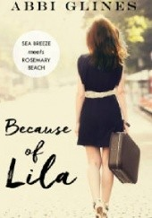 Okładka książki Because of Lila