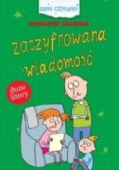 Okładka książki Zaszyfrowana wiadomość Iwona Czarkowska