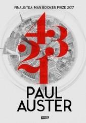 Okładka książki 4321 Paul Auster