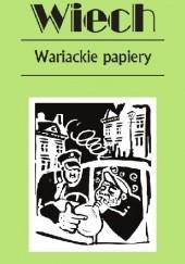 Okładka książki Wariackie papiery Stefan Wiechecki