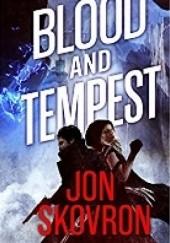 Okładka książki Blood and Tempest Jon Skovron