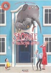 Okładka książki Słonie w naszym domu