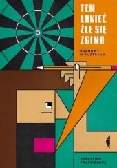 Okładka książki Ten łokieć źle się zgina. Rozmowy o ilustracji Sebastian Frąckiewicz