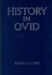 Okładka książki History in Ovid Ronald Syme