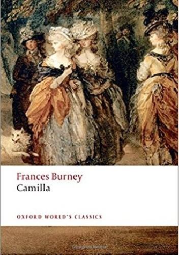 Okładka książki Camilla Fanny Burney
