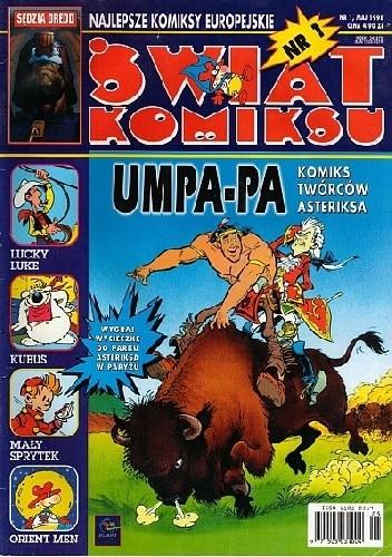 Okładka książki Świat Komiksu #01 (maj 1998) praca zbiorowa