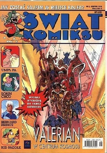 Okładka książki Świat Komiksu #02 (czerwiec 1998) praca zbiorowa