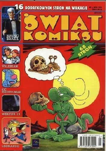 Okładka książki Świat Komiksu #03 (marzec 1998) praca zbiorowa