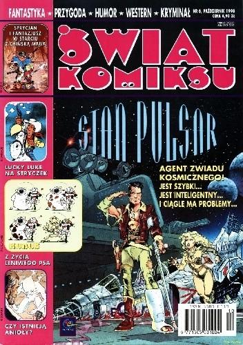 Okładka książki Świat Komiksu #06 (październik 1998) praca zbiorowa