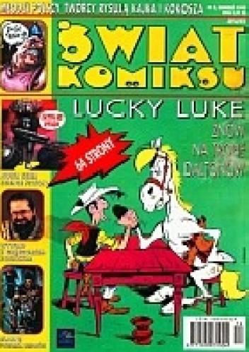 Okładka książki Świat Komiksu #08 (grudzień 1998) praca zbiorowa