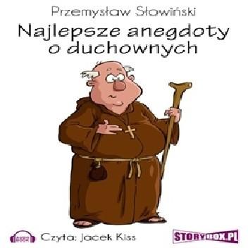 Okładka książki Najlepsze anegdoty o duchownych Przemysław Słowiński