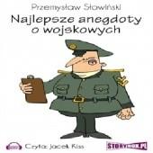 Okładka książki Najlepsze anegdoty o wojskowych
