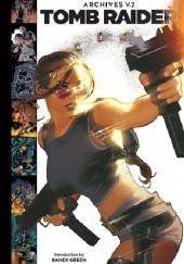 Okładka książki Tomb Raider Archives Volume 2 Dan Jurgens,Michael Turner,Tony S. Daniel,John Ney Rieber,Adam Hughes,Andy Park,James Bonny,Randy Green