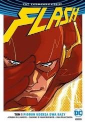 Okładka książki Flash: Piorun uderza dwa razy Carmine di Giandomenico,Joshua Williamson