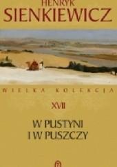 Okładka książki W pustyni i w puszczy Henryk Sienkiewicz