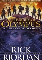 Okładka książki The Blood of Olympus Rick Riordan