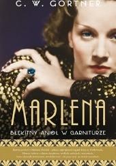 Okładka książki Marlena. Błękitny anioł w garniturze Christopher W. Gortner