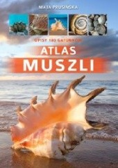 Okładka książki Atlas muszli Maja Prusińska