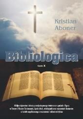 Okładka książki Bibliologica Kristian Aboner