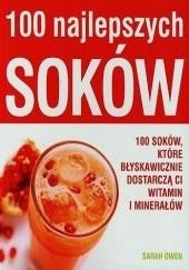 Okładka książki 100 najlepszych soków Sarah Owen