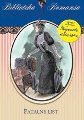 Okładka książki Fatalny list Jadwiga Courths-Mahler
