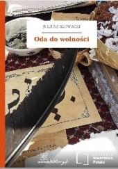 Okładka książki Oda do wolności Juliusz Słowacki
