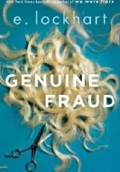 Okładka książki Genuine Fraud E. Lockhart