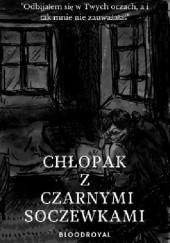 Okładka książki Chłopak z czarnymi soczewkami Jakub Czekawy