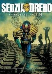 Okładka książki Sędzia Dredd - Kompletne Akta 14 Carlos Ezquerra,John Wagner,William Simpson
