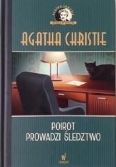 Okładka książki Poirot prowadzi śledztwo Agatha Christie
