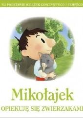 Okładka książki Mikołajek. Opiekuję się zwierzakami praca zbiorowa,Emmanuelle Lepetit
