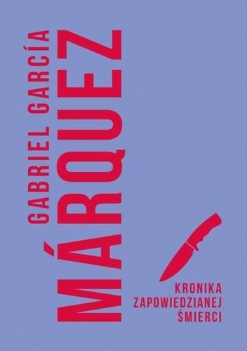 Okładka książki Kronika zapowiedzianej śmierci Gabriel García Márquez