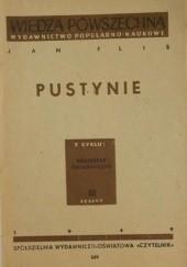 Okładka książki Pustynie Jan Flis