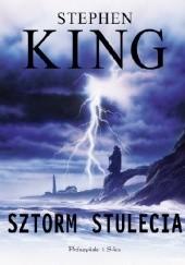 Okładka książki Sztorm stulecia Stephen King