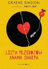 Okładka książki Lista przebojów Adama Sharpa Graeme Simsion