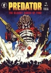 Okładka książki Predator: The Bloody Sands of Time #1 Chris Warner,Dan Barry