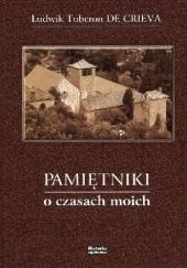 Okładka książki Pamiętniki o czasach moich Ludwik Tuberon de Crieva