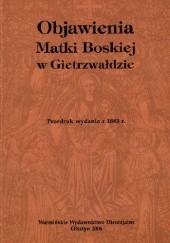 Okładka książki Objawienia Matki Bożej w Gietrzwałdzie Augustyn Weichsel