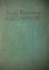 Okładka książki Rzeczywistość Jerzy Putrament