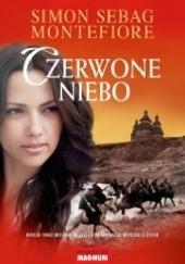 Okładka książki Czerwone niebo Simon Sebag Montefiore