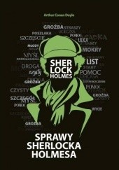 Okładka książki Sprawy Sherlocka Holmesa Arthur Conan Doyle