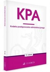 Okładka książki Kodeks postępowania administracyjnego Ustawodawca