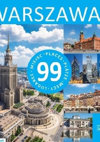 Okładka książki Warszawa - 99 miejsc Rafał Tomczyk
